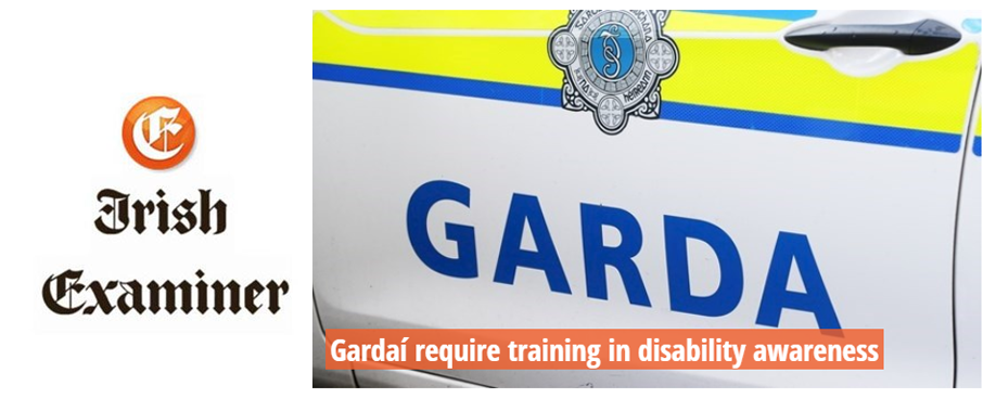 Gardaí require training in disability awareness