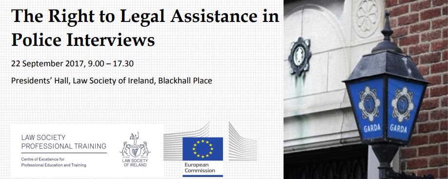 """SUPRALAT Project  """"The Right to Legal Assistance in Police Interviews"""""""
